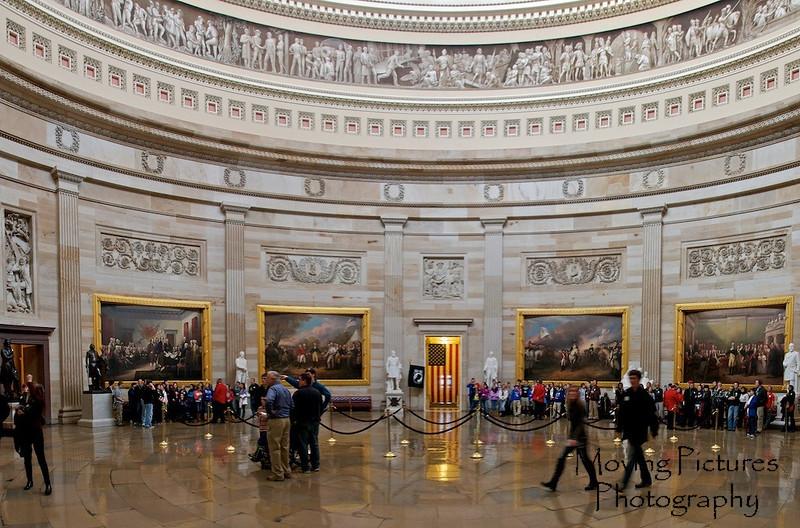 US Capitol - the rotunda