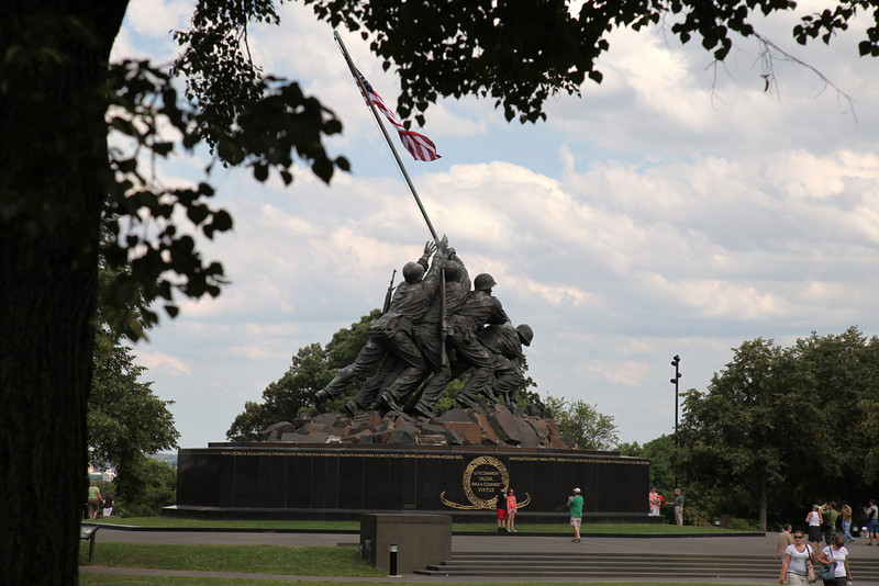 United States Marine Corps Memorial at Arlington, VA
