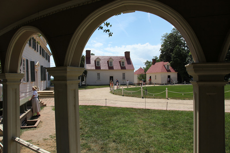 Outbuildings at Mount Vernon, VA