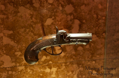 Ford's Theater - derringer used by Booth to kill Lincoln