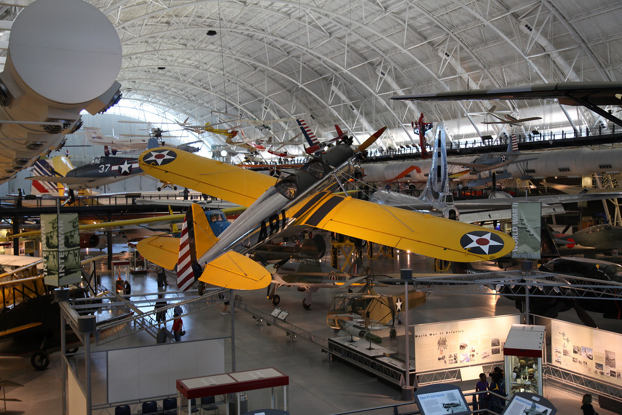 National Air & Space Museum Annex, Dulles Airport, VA