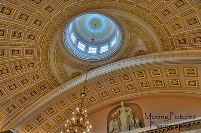 US Capitol - ceiling inside Statuary Hall