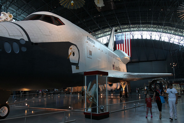 Space Shuttle Enterprise -- National Air & Space Museum, Dulles Airport, VA