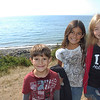 Dimitri, Alana and Juliana at Fort Ebey bluff