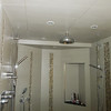 MB shower stall ceiling sagging... east wall soaked but tile not falling off (yet)