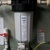 """10x4.5"""" Filter Housing Installed in 2007 with the maximum pressure specification of 90psi."""