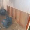 Garage wall.  10-24-11