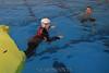 Nate swims free...