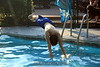 Gilbo with nice swan dive. 7/17/07