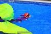Helena swims free. 8/7/09