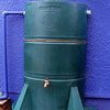 Throughout the year we use water from our rain barrels to wash tools and worm bins and fill watering cans.