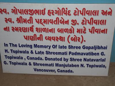 Water bores in Surendrangar District