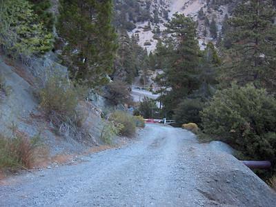 Water sources on Ski Hut Trail 8/31/07
