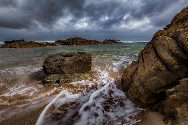 (2695) Edge of the World, Tasmania, Australia