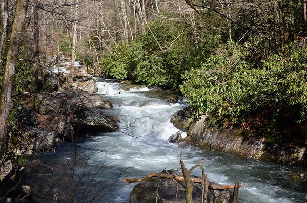Waterfalls, Rivers, Creeks