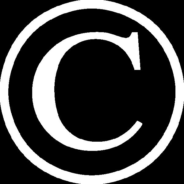 Big Copyright symbol Horizontal