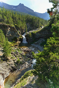 Blakiston Falls, Waterton