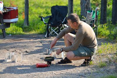 Alvin Grenke @ Crandall Mountain Campsite