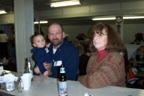 Mary and Johny Watson and grand son I think