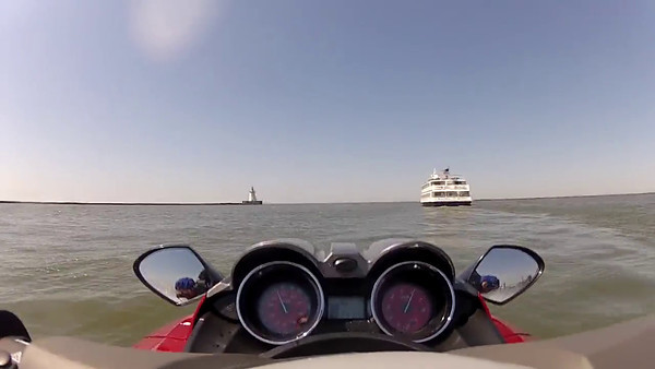 Lake Erie ride 051912