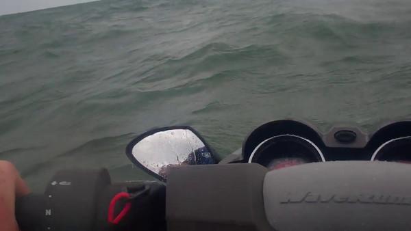 Lake Erie Fairport Harbor ride 2 082811
