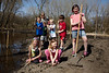 Wayzata, MN - Local Wayzata children from Benton Avenue prepare to help out with spring planting in the community here today, Sunday April 11, 2010.  Date: Sunday April 11, 2010 Photo by © Todd Buchanan 2010 Technical Questions: todd@toddbuchanan.com; Phone: 612-226-5154.