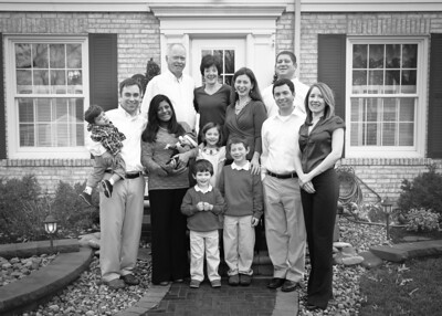 The Whole Fam bw (1 of 1)