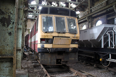 141110/55510 inside the shed at Walsingham on the 'Weardale Railway' 24/06/12.