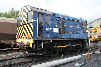 Class 08_08523 at Walsingham   24/06/12