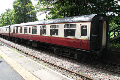 E3507 MK1 SK at Stanhope Station   24/06/12