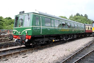 DMU W55012 sits at Walsingham on the 'Weardale Railway. 24/06/12