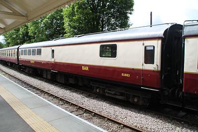 E1883 MK2 BAR at Stanhope Station   24/06/12