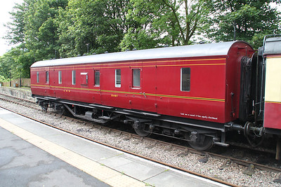 31407 LMS BG at Stanhope Station   24/06/12