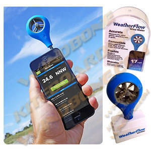 Weather Flow Wind Meter for iPhone Android Phone