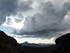 Looking north towards Mt. Washington, Three Fingered Jack and Mt. Jefferson.
