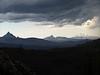 Mt. Washington, Three Fingered Jack and Mt. Jefferson.