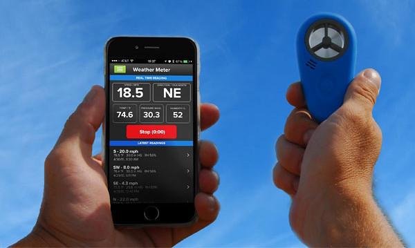 WeatherFlow WEATHERmeter Smartphone Weather Device