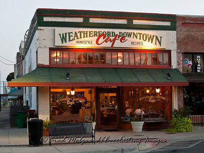 """Cafe Weatherford"" - Texas"