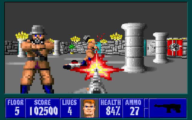 Wolfenstein 3D od id Software