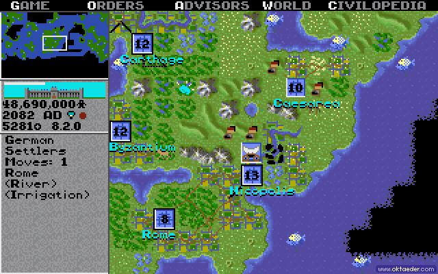 Civilization 1 - Microprose - Sid Meier