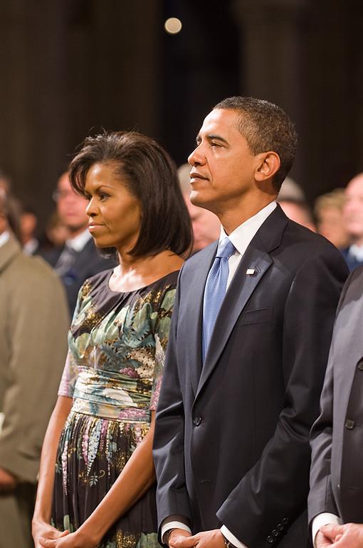 Fifty-sixth Presidential Ihaugural Prayer Service at Washington National Cathedral