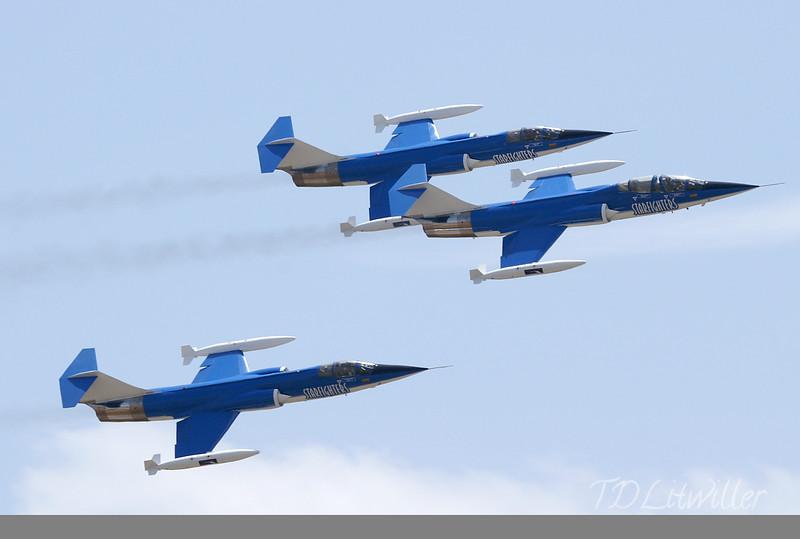 Starfighters F104 Demo Team <br /> MacDill 2008