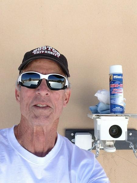 John Sims, Maintenance Crewman