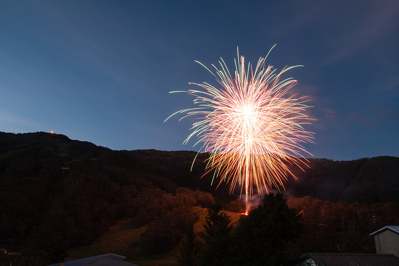 Thredbo Fireworks - Here Comes 2014