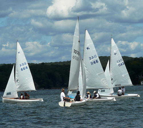 Upwind at Lake Hopatcong