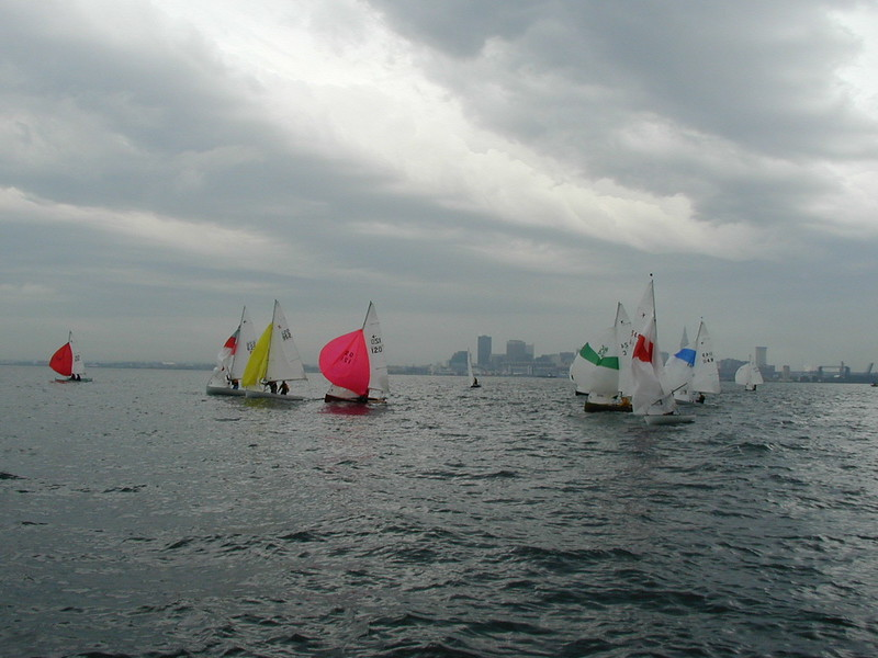 Crew Race at the 2004 Nationals