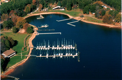 Lake Norman YC From the Sky