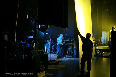Jesse McCartney backstage