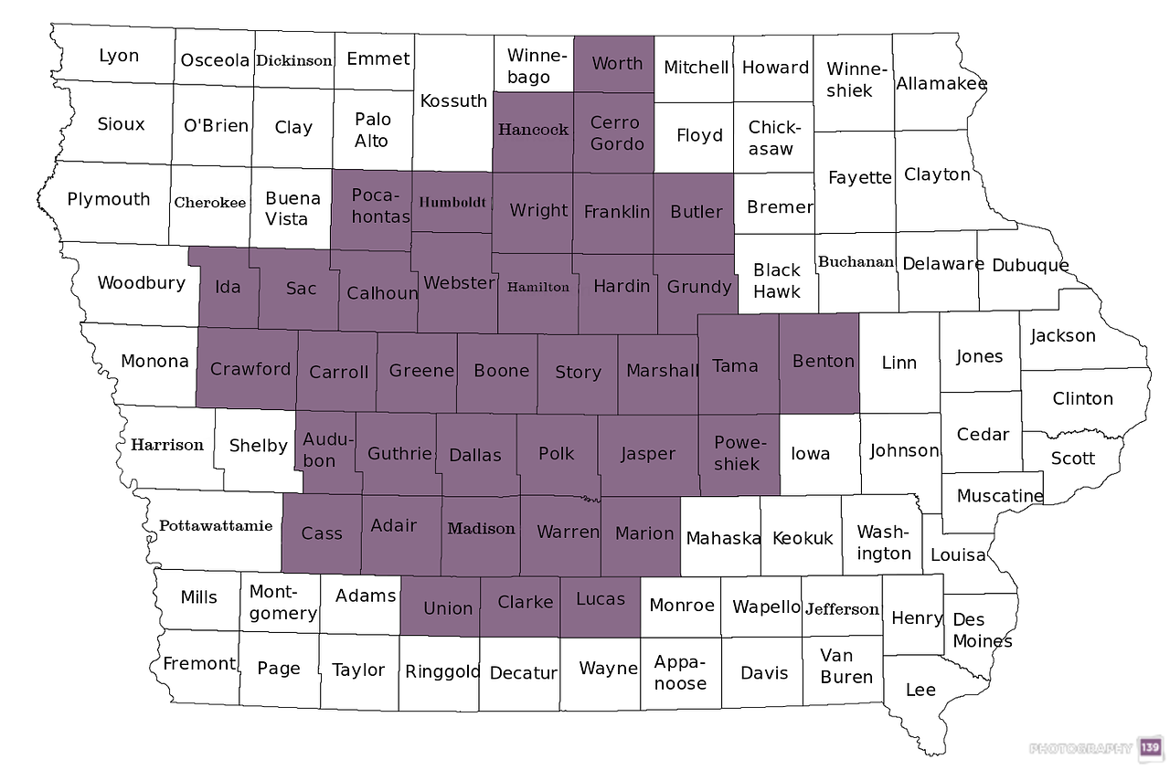 Town Sign Project - 37 Counties