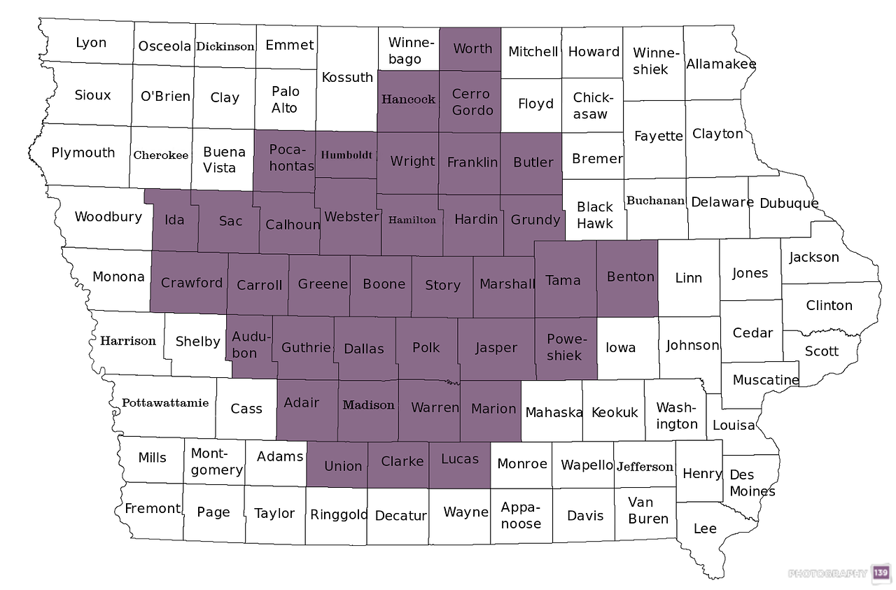 Town Sign Project - 36 Counties